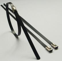 喷塑不锈钢扎带与挤塑不锈钢扎带有什么区别?