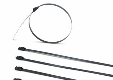 电缆供应喷塑格式不锈钢扎带的材质与用途