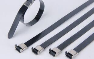 包塑不锈钢扎带的连接方式