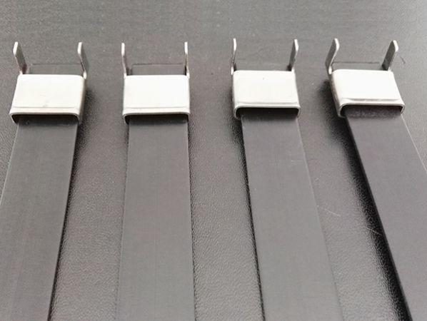 L型挤塑不锈钢扎带