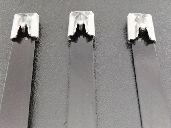 滚珠式喷塑不锈钢扎带